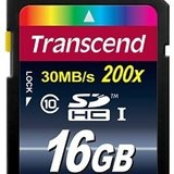 Secure digital card sdhc 16GB Transcend